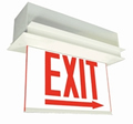 Chicago City Approved Ceiling Recessed Exit Sign
