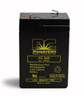 Sealed Lead Acid 6 Volt 4.5 Amp Battery
