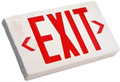 Single & Double Sided Red LED AC Only Exit Sign