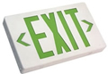 Single & Double Sided Green LED AC Only Exit Sign