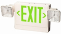 Green 12 Watt Emergency Light / LED Exit Sign