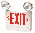 Red 12 Watt HighBrite Emergency Light/Exit Signs