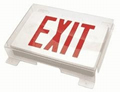Vandal Safe Polycarbonate Shield for Exit Signs