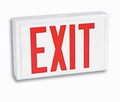 Universal Steel Red LED Battery Back Up Exit Sign
